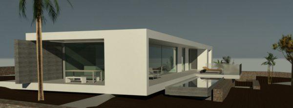 Construción de Villa de lujo en el pueblo de Lajares – La Oliva, Fuerteventura.